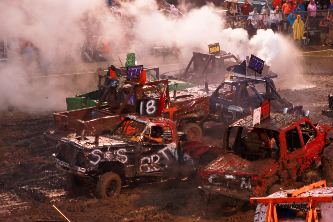 Fisher Fair Demolition Derby